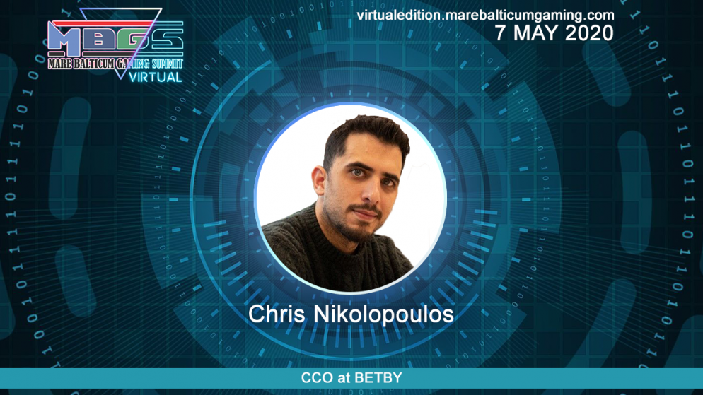 #MBGS2020VE announces Chris Nikolopoulos, CCO at BETBY among the speakers.