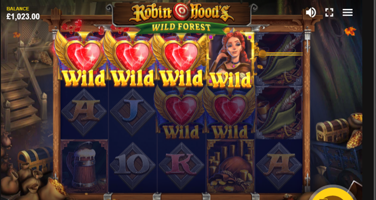 Red Tiger Gaming releases new Robin Hood's Wild Forest online slot game