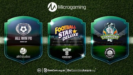 Microgaming adds trio of new and exclusive sports-themed titles to its content aggregation platform