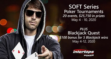 Intertops Poker SOFT series starts today offering freerolls and champion tournament action