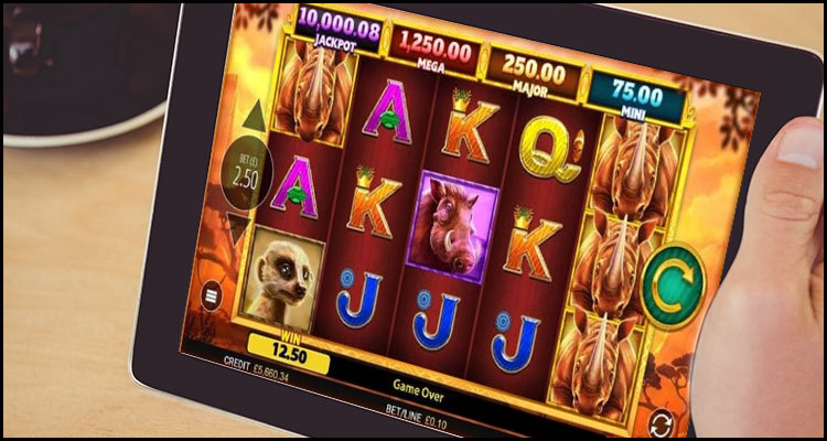 Blueprint Gaming Limited releases new Rhino Rampage video slot