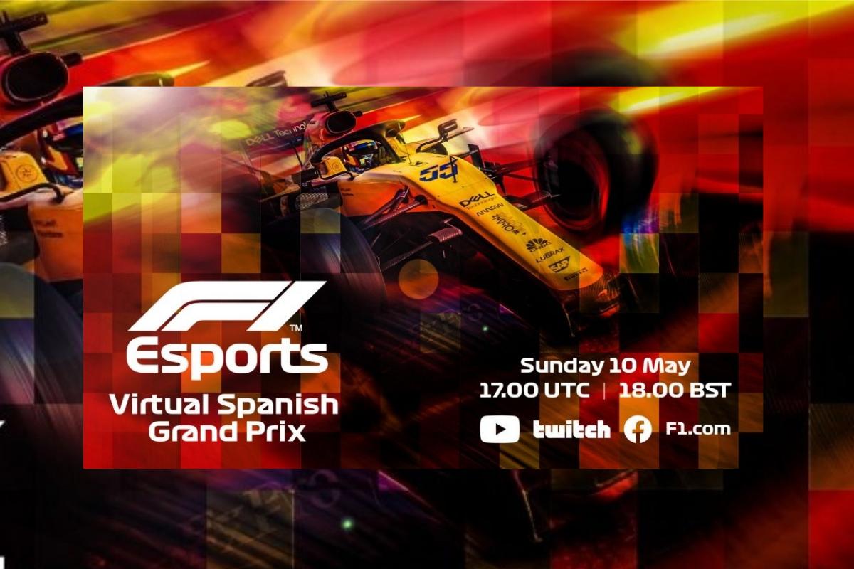 Formula 1 drivers line-up alongside footballing stars for Virtual Spanish Grand Prix