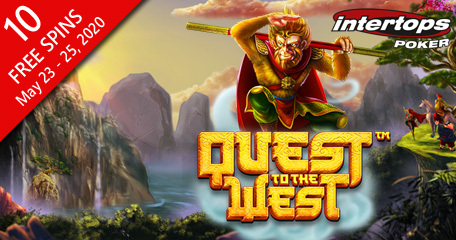 Intertops Poker offering spins on new Quest to the West plus boosted prize pools in upcoming Wipeout Series