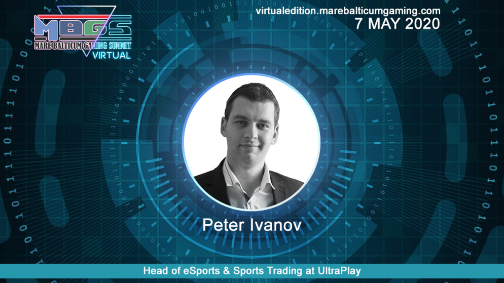 #MBGS2020VE announces Peter Ivanov, Head of eSports & Sports Trading at UltraPlay among the speakers.