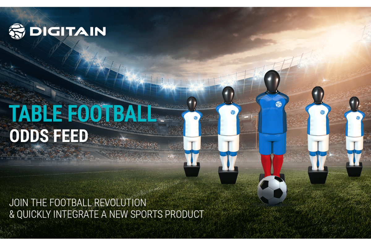Digitain scores a winner with its industry-first Live Table Football Odds Feed