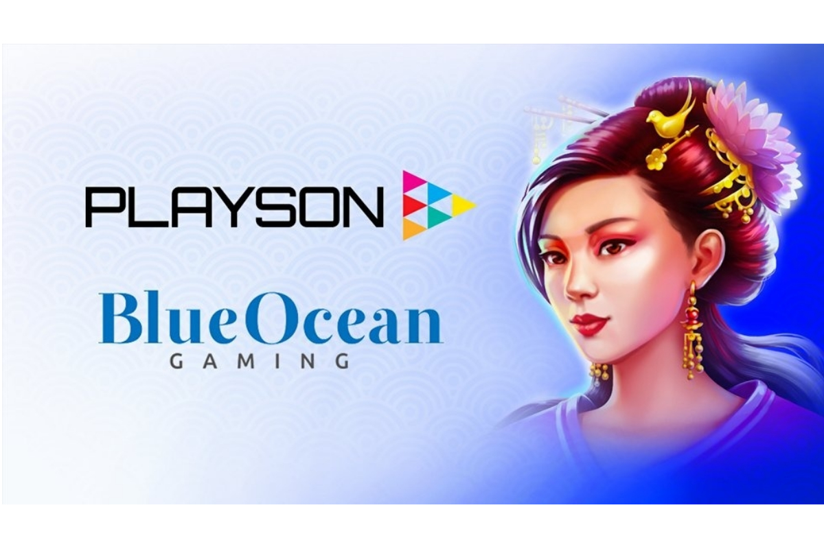 Playson inks deal with BlueOcean Gaming