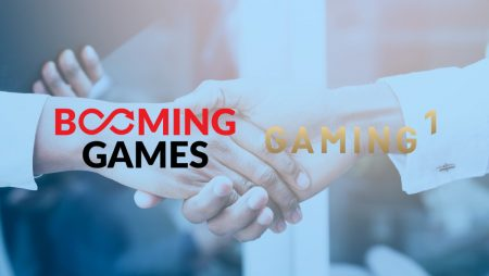 Booming Games partners with Gaming1
