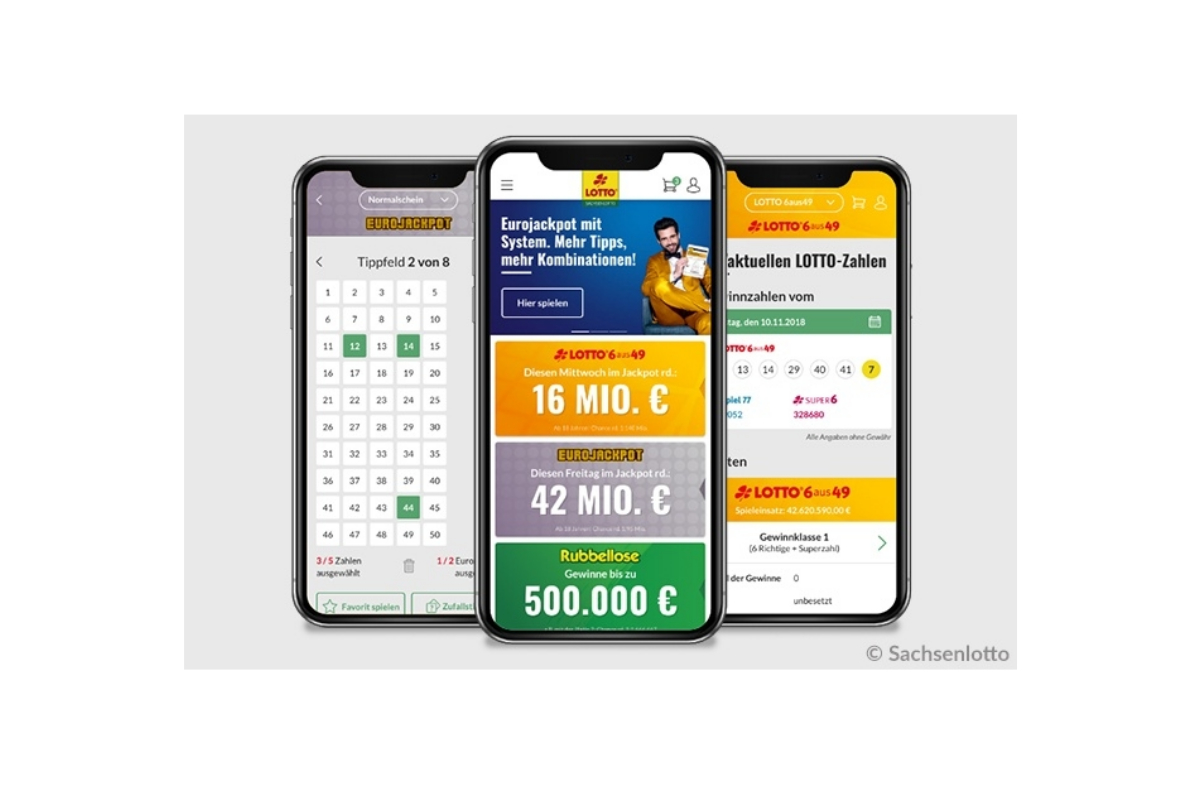 New mobile solution for Sachsenlotto successfully launched