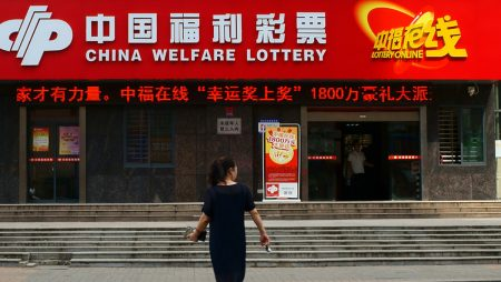 China Lottery Sales Rises in March