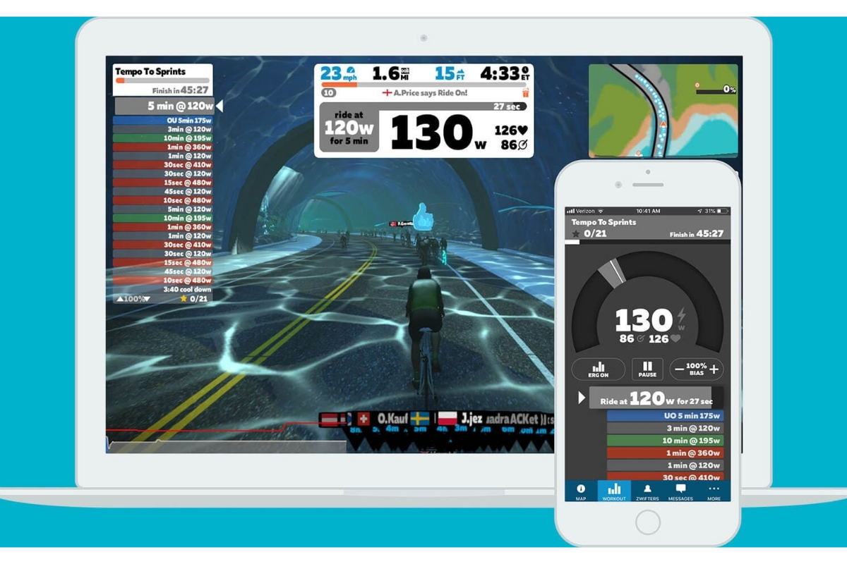 Virtual bike races as hard as Tour de France, says expert