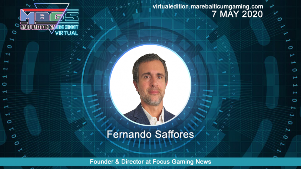 #MBGS2020VE announces Fernando Saffores, Founder & Director at Focus Gaming News, among the speakers.