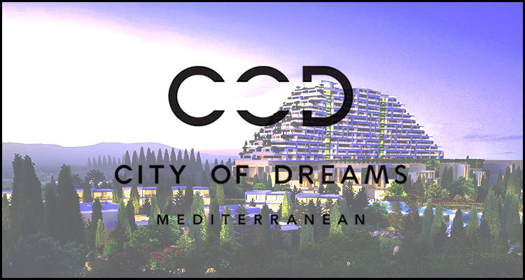 City of Dreams Mediterranean construction work resumes