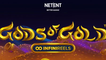 NetEnt launches new Gods of Gold InfiniReels featuring ground-breaking infinite bet ways concept