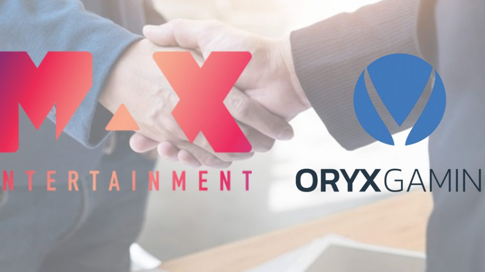ORYX Gaming Merges Efforts with Max Entertainment