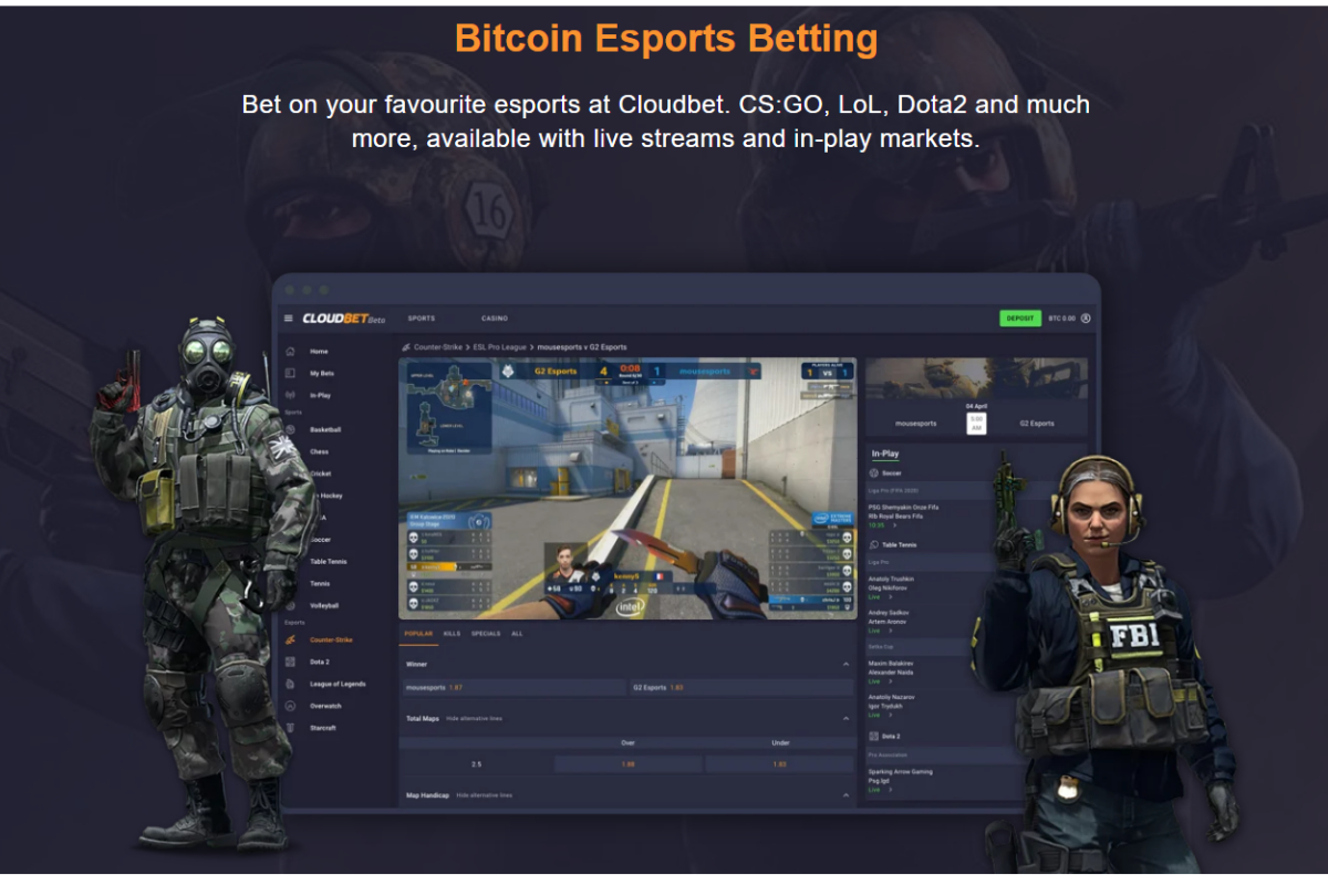 Crypto Gaming Pioneer Cloudbet Crystallises Esports Potential in New Offering