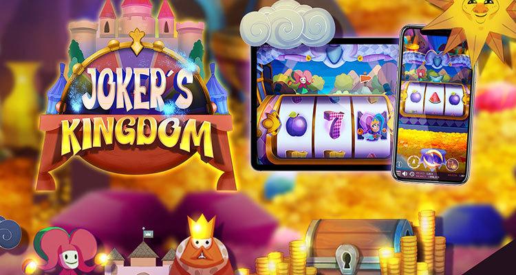 Triple Cherry announces new online slot game Joker's Kingdom