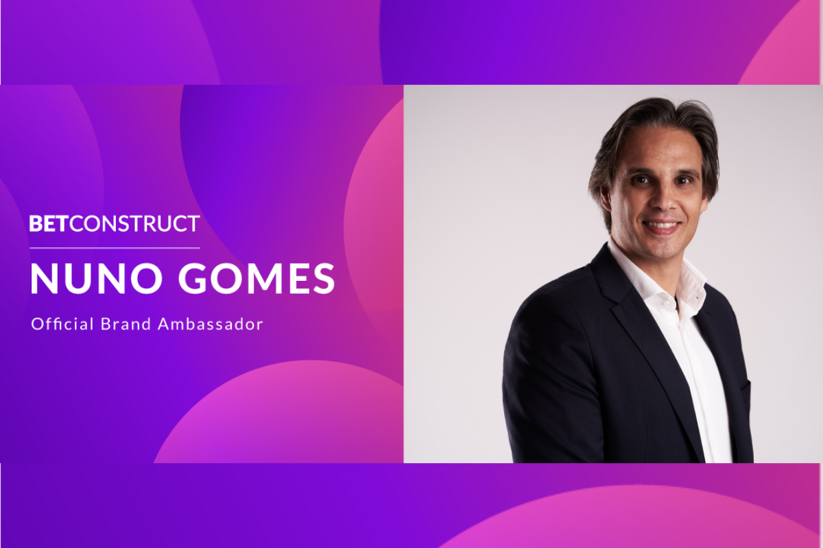 Nuno Gomes Joins BetConstruct and FeedConstruct as Brand Ambassador