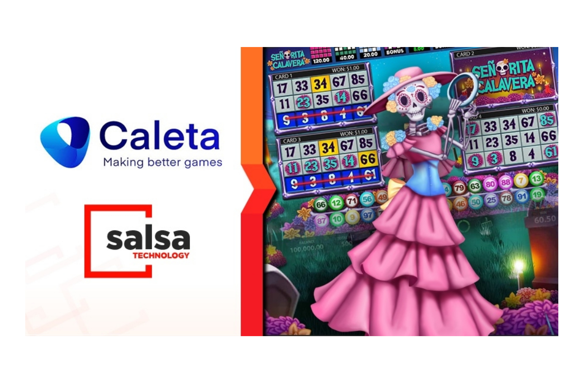 Salsa Technology welcomes Caleta Gaming content to GAP