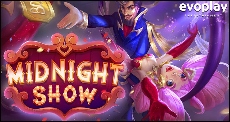 Evoplay Entertainment lifts the curtain on new Midnight Show video slot
