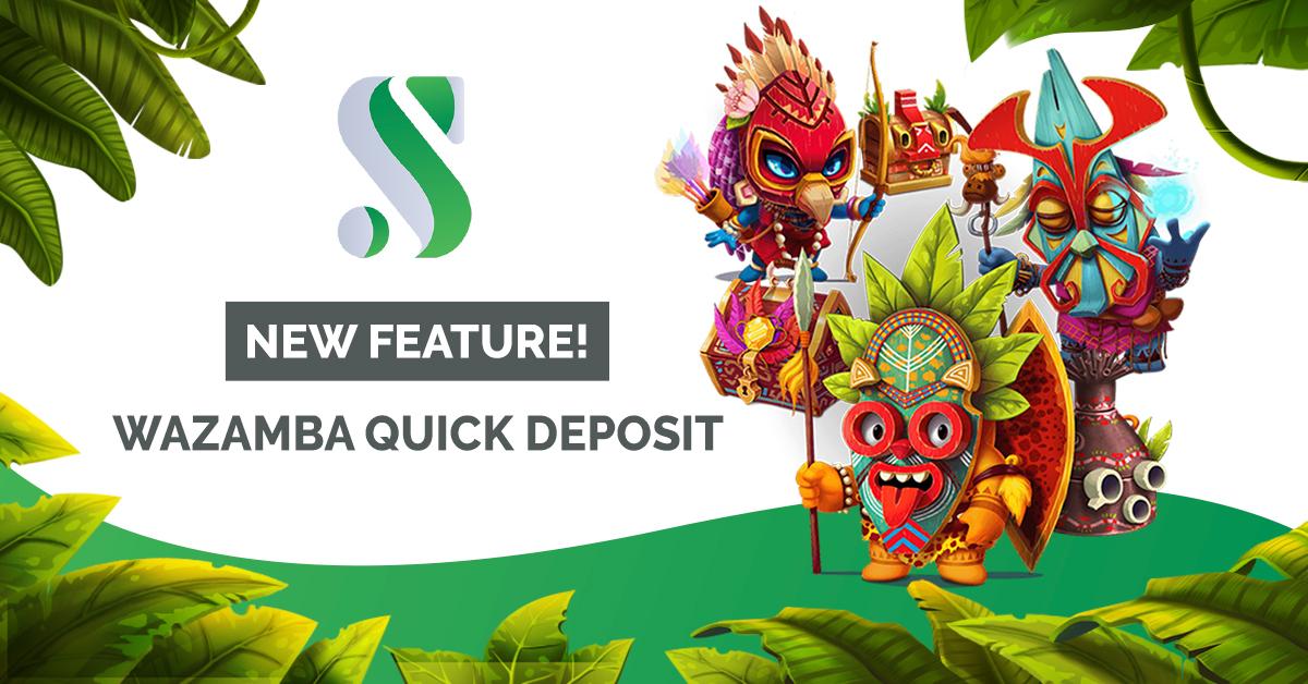 Soft2Bet debuts quick deposit tool with Wazamba