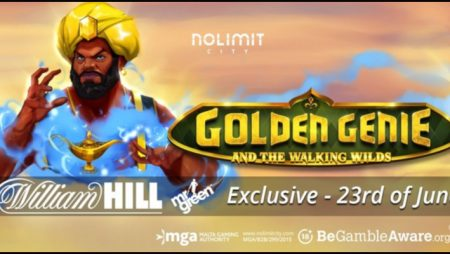Golden Genie and the Walking Wilds premiered by Nolimit City Limited