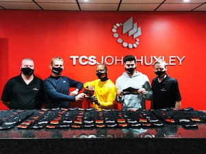 Casino supplier TCSJohnHuxley supplies masks