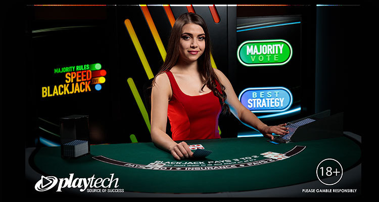 Playtech adds Majority Rules Speed Blackjack to its growing Live Casino portfolio