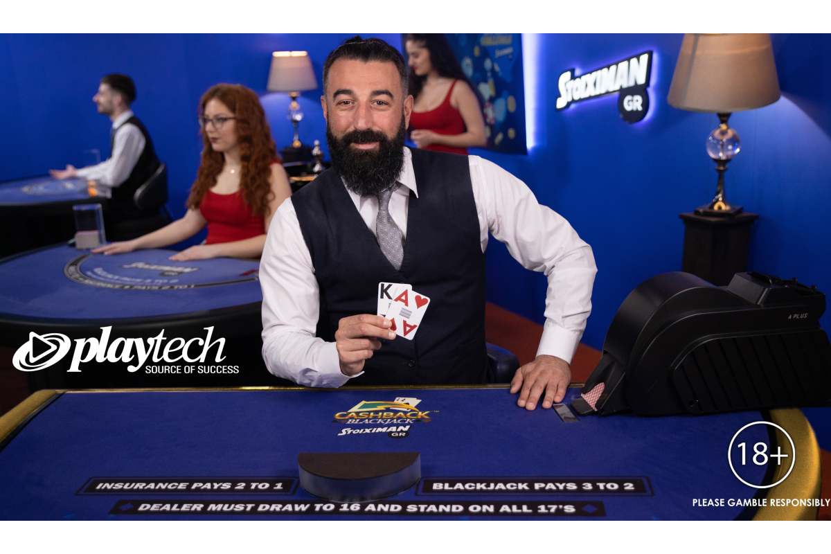 Playtech and Stoiximan/Betano launch industry-first Live Cashback Blackjack