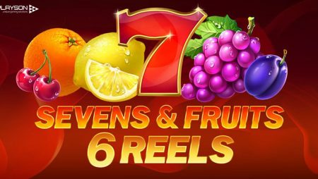 Playson adds 6th Reel to new Seven & Fruits slot: CashDays returns July 1st with €40,000 prize pool!