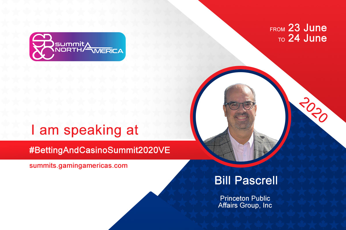 Bill Pascrell, III (Princeton Public Affairs Group) to join speaker lineup at the Sports Betting & Casino Summit North America 2020