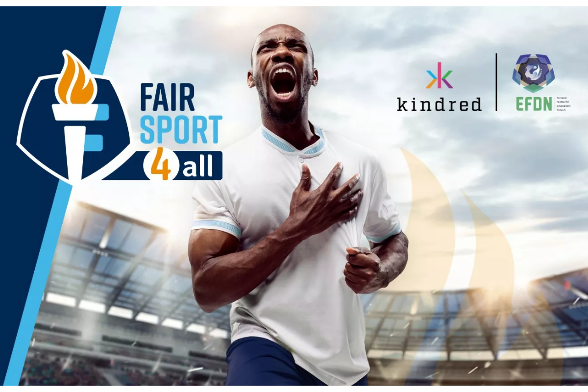 """Kindred and European Football Network Launch """"Fair Sports 4 All"""" Project"""