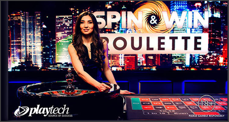 Playtech premieres new Spins & Win live roulette advance with PokerStars