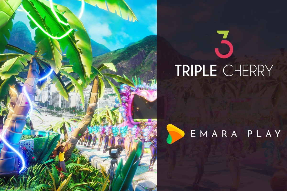 Triple Cherry partners with Emara Play