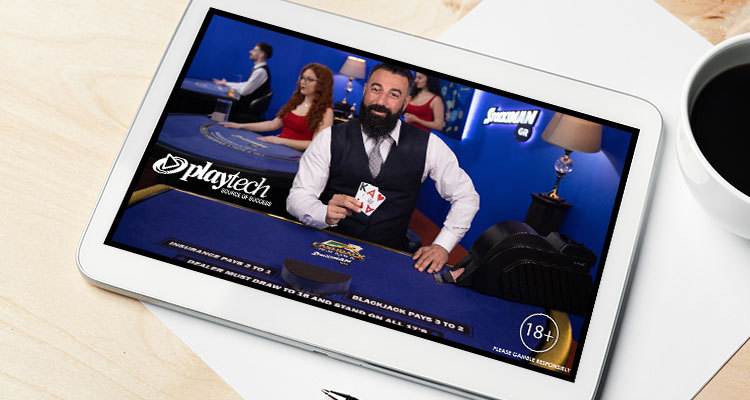New Live Cashback Blackjack game launched by Playtech and Stoiximan/Betano