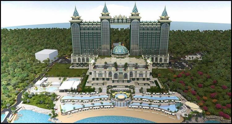 Emerald Bay Resort and Casino construction hindered by coronavirus