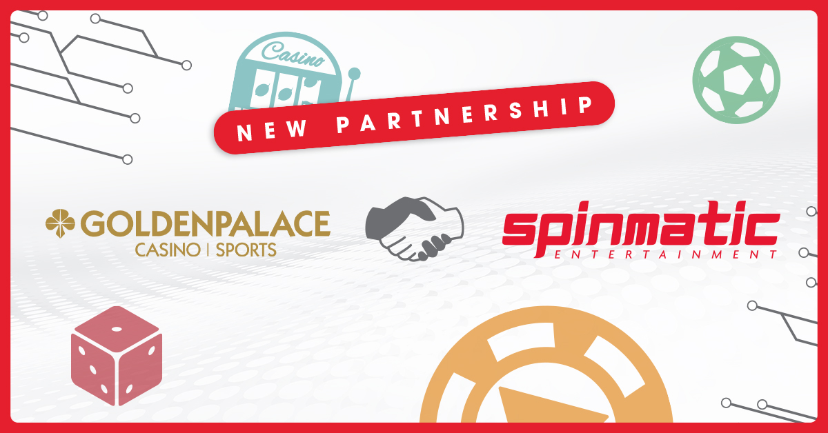 Spinmatic slot games reach Golden Palace platform