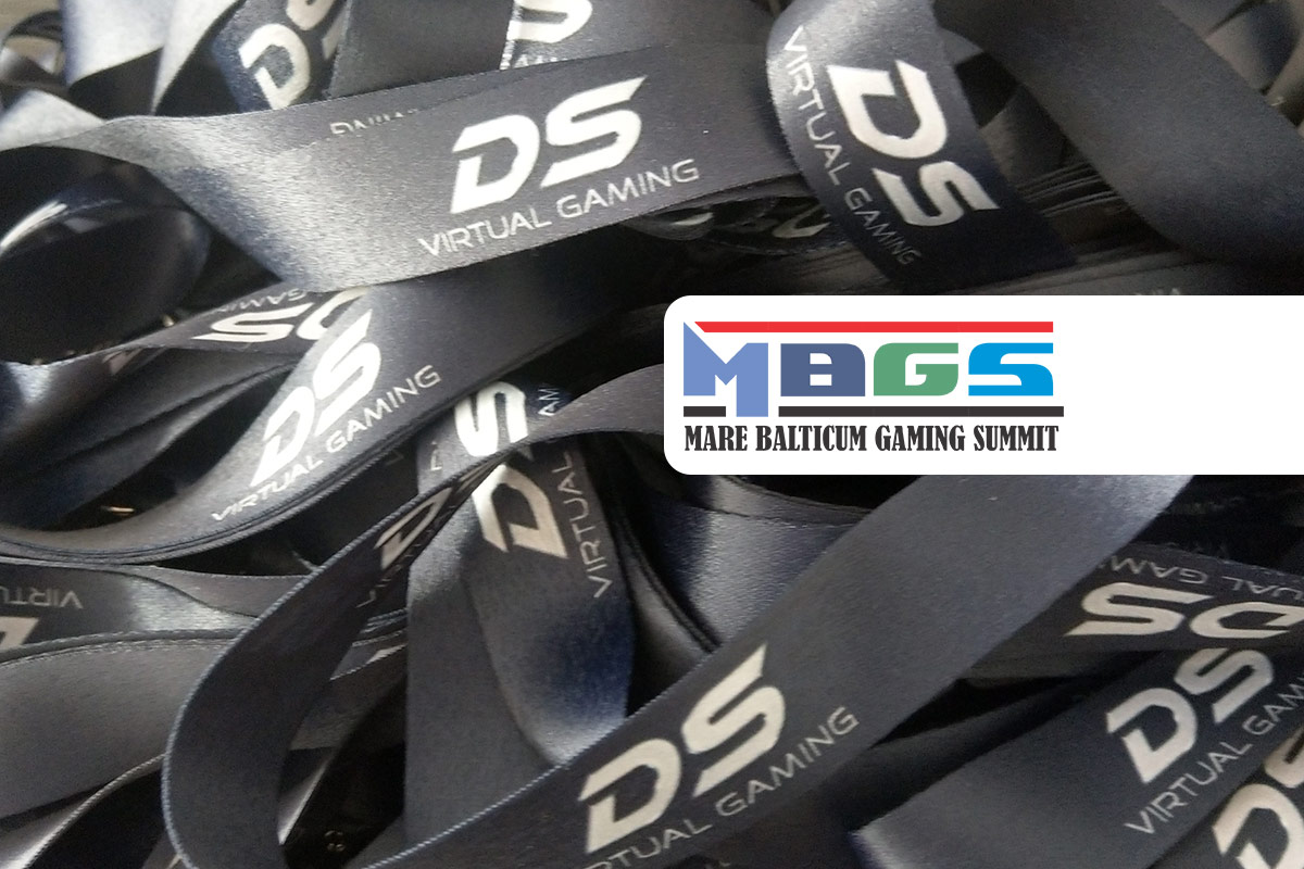 DS Virtual Gaming announced as LANYARDS SPONSOR at the live edition of MARE BALTICUM Gaming Summit (Tallinn, Estonia)