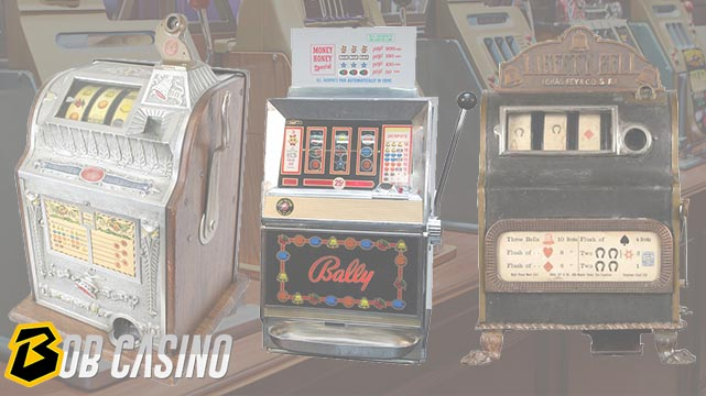 Variety of Slot Machines Through the Decades