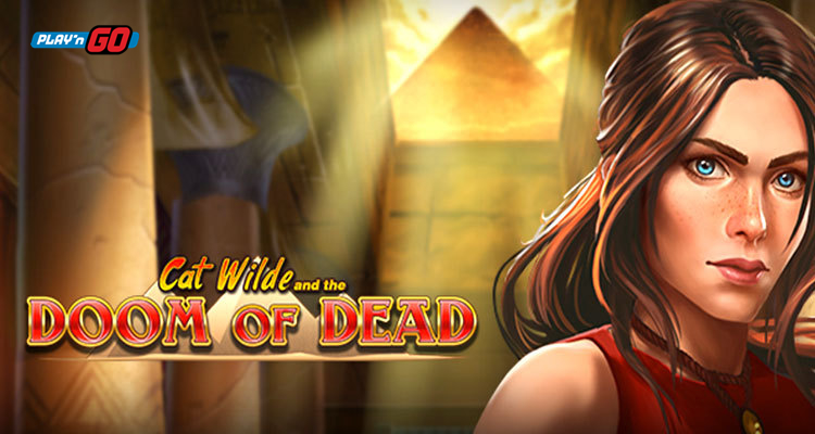 """Play'n GO introduces a """"new face"""" via its Cat Wilde and the Doom of Dead slot"""