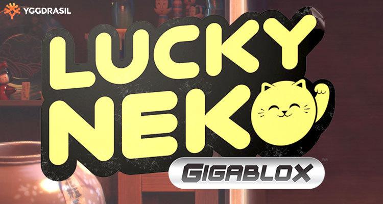 Yggdrasil Gaming unveils new Gigablox mechanic via new online slot Lucky Neko Gigablox