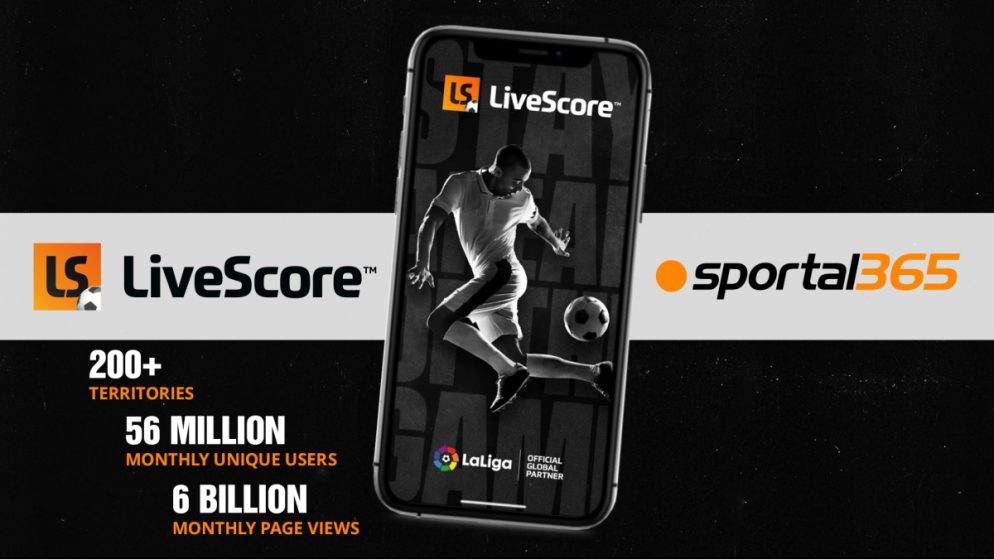 LiveScore agrees deal with Sportal365