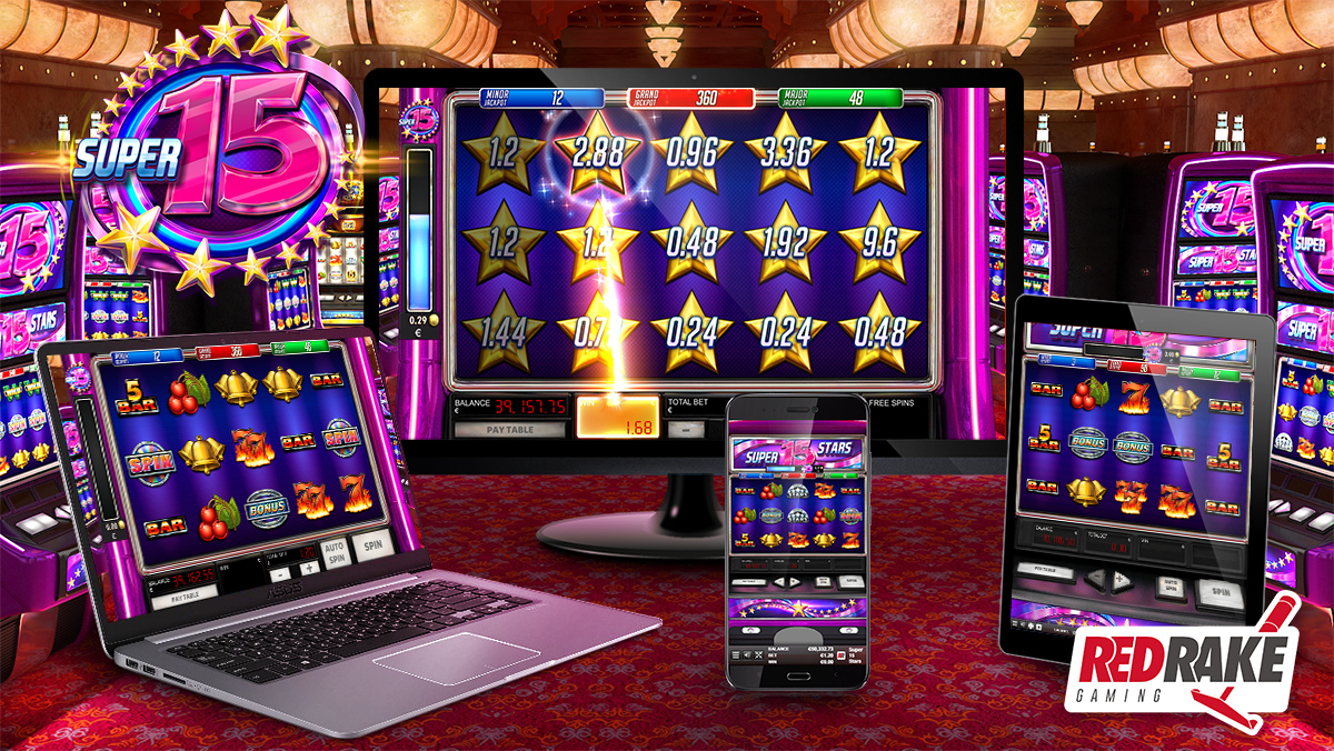 Red Rake Gaming is adding to their Super video slots series with the release of Super 15 Stars
