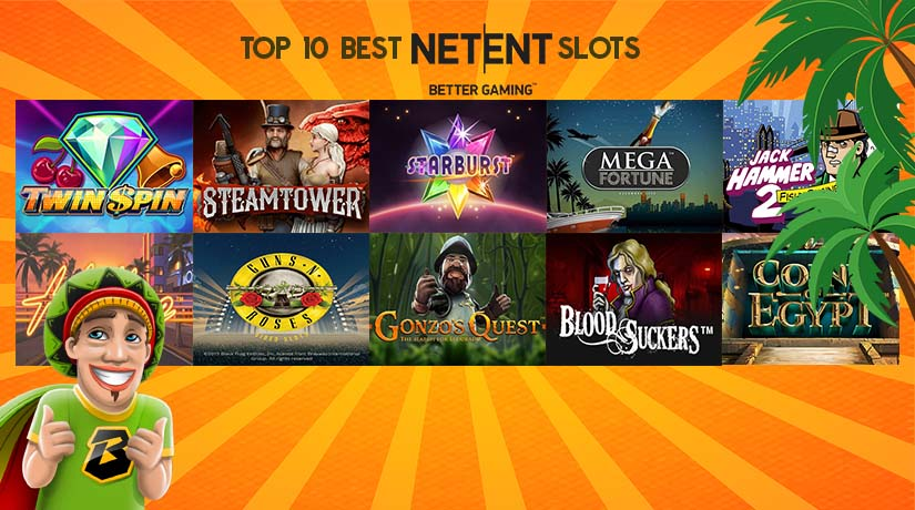 Top 10 Best-Paying NetEnt Slots of All Time