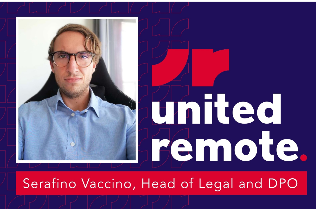 United Remote boosts senior management further by adding a new Legal and DPO leader