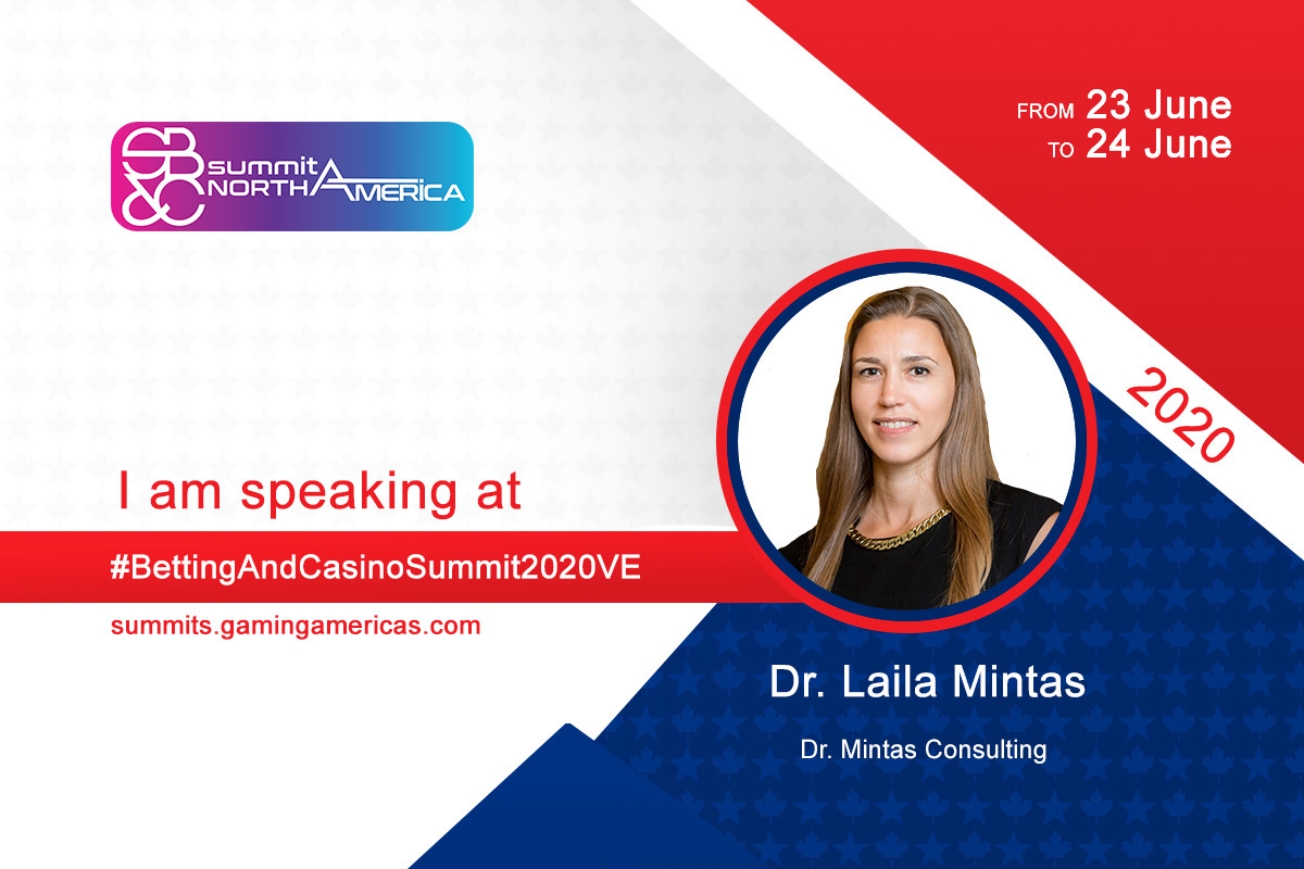 Dr. Laila Mintas to join speaker lineup at the Sports Betting & Casino Summit North America 2020