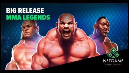 """NetGame Entertainment Releases its New Slot """"MMA Legends"""""""