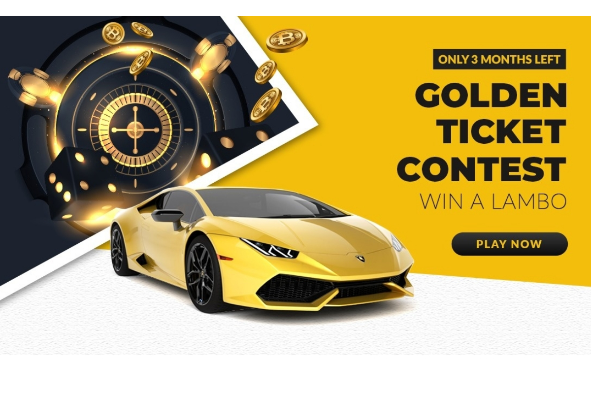 You Have 90 Days to Win a Lamborghini at FreeBitco.in