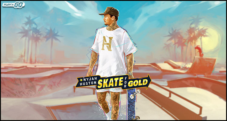 Play'n GO releases new Nyjah Huston: Skate for Gold video slot