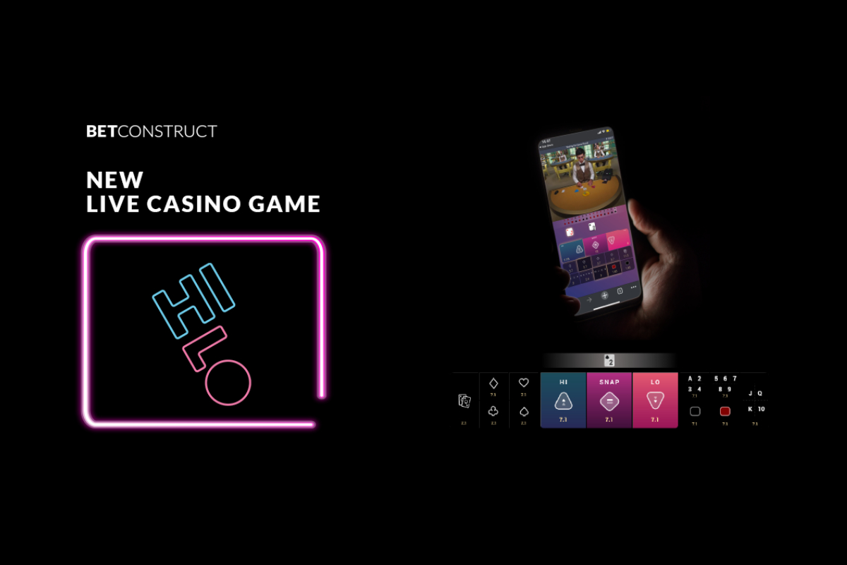 BetConstruct Adds Hi-Lo to its Live Casino Portfolio