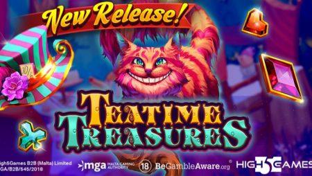 H5G debuts new Wonderland-themed video slot Teatime Treasures